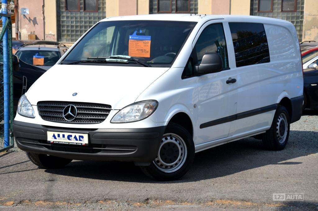 Mercedes-Benz Vito, 2008 - celkový pohled