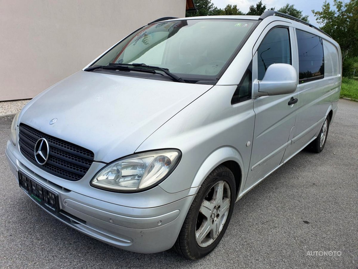 Mercedes-Benz Vito, 2006 - celkový pohled