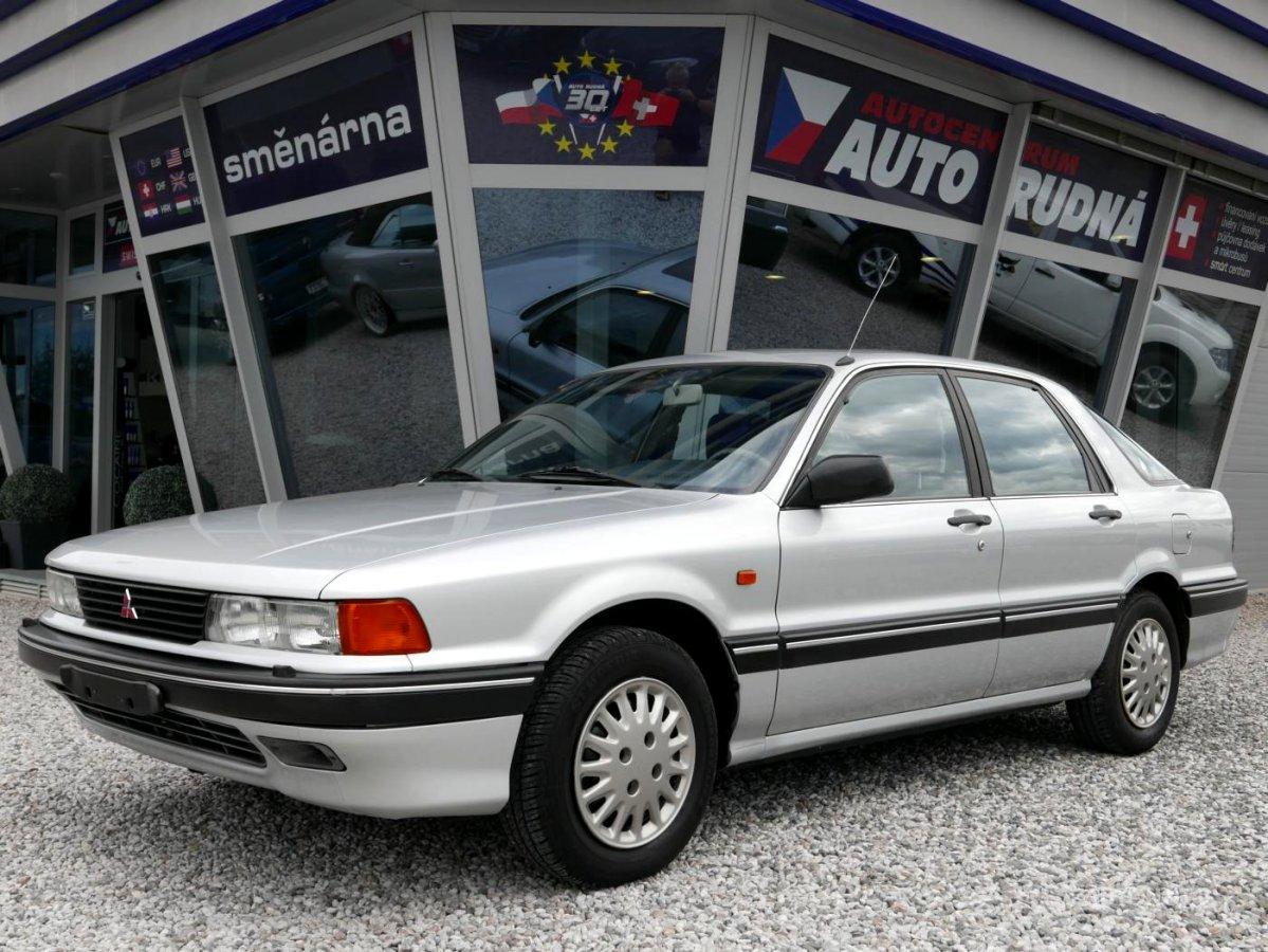 Mitsubishi Galant, 1991 - celkový pohled
