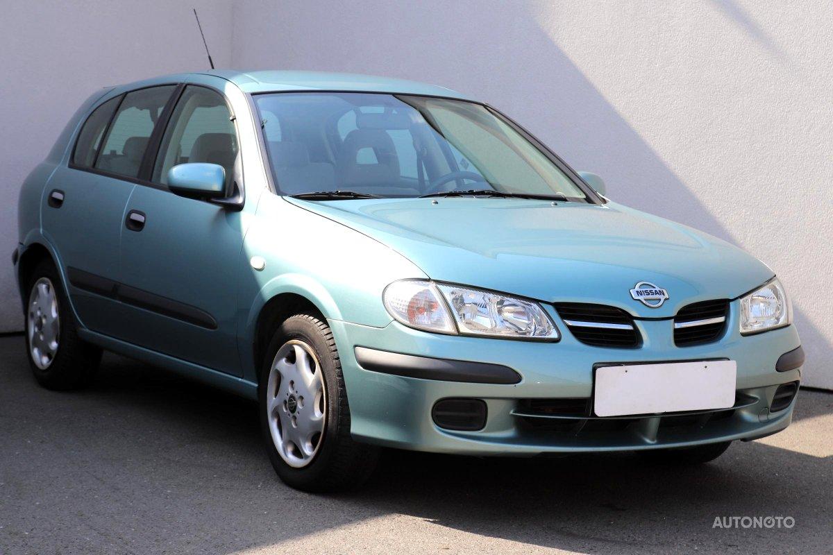 Nissan Almera, 2001 - celkový pohled