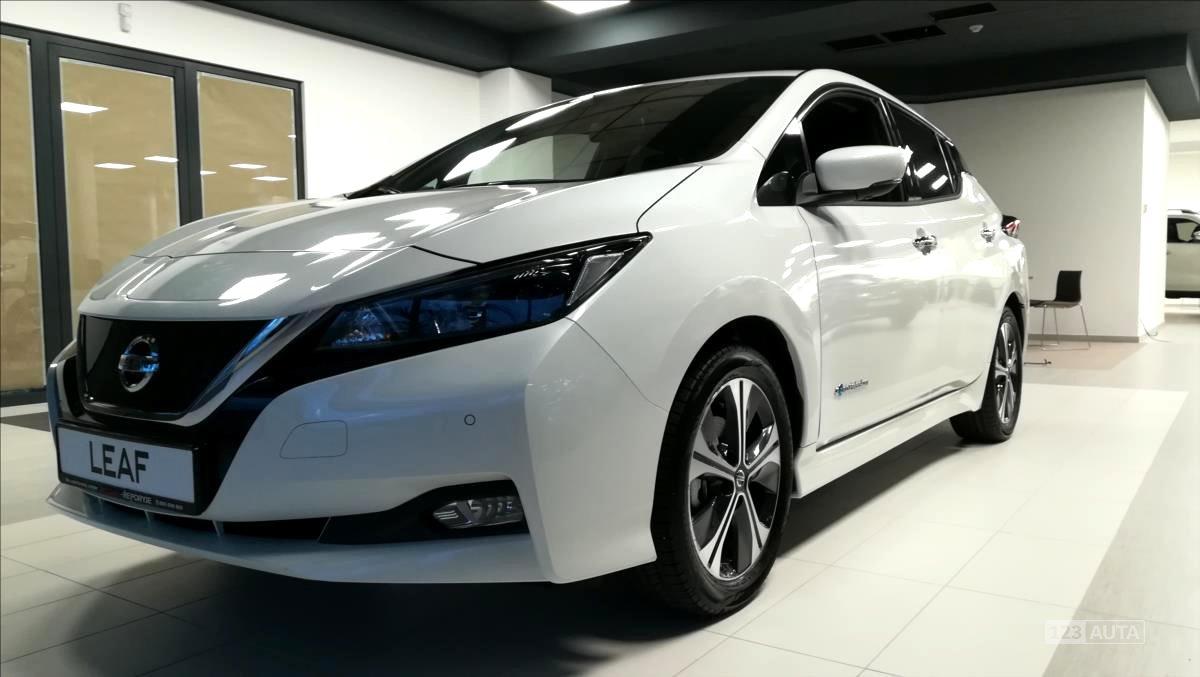 Nissan Leaf, 2018 - celkový pohled
