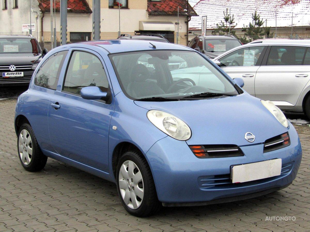 Nissan Micra, 2003 - celkový pohled