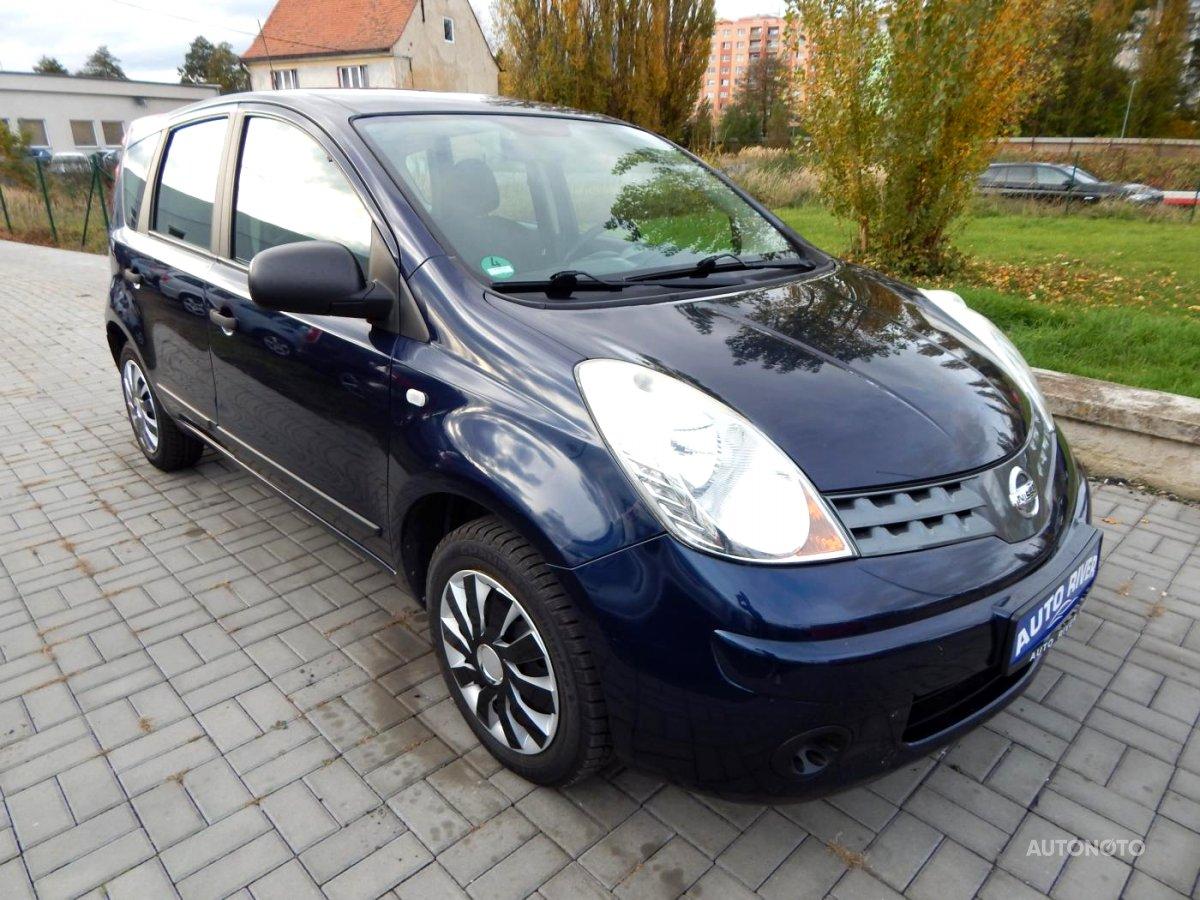 Nissan Note, 2009 - celkový pohled