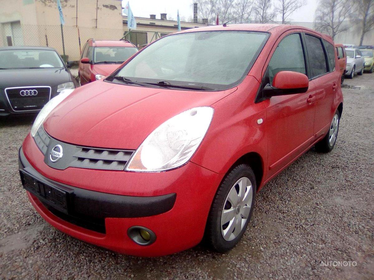 Nissan Note, 2006 - celkový pohled