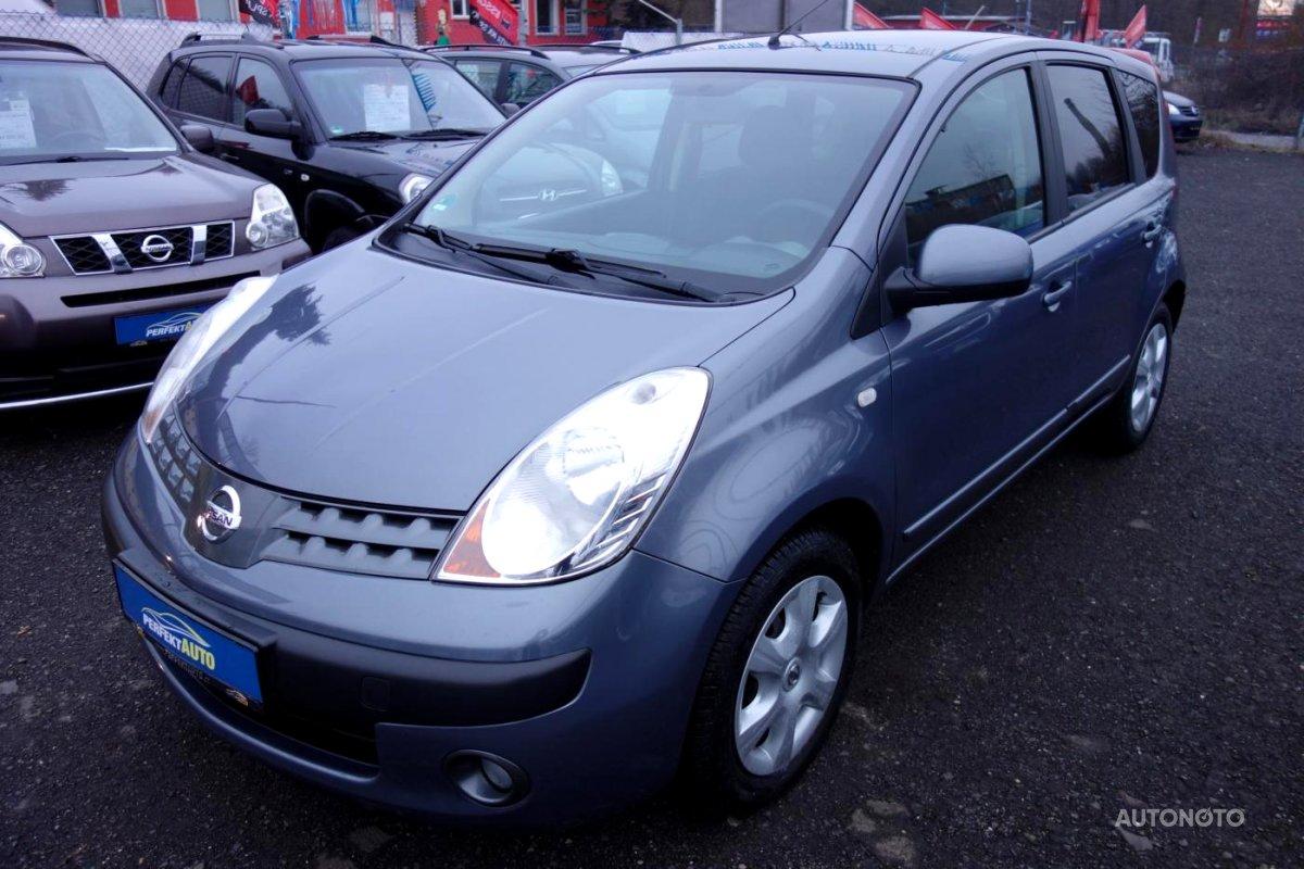 Nissan Note, 2007 - celkový pohled