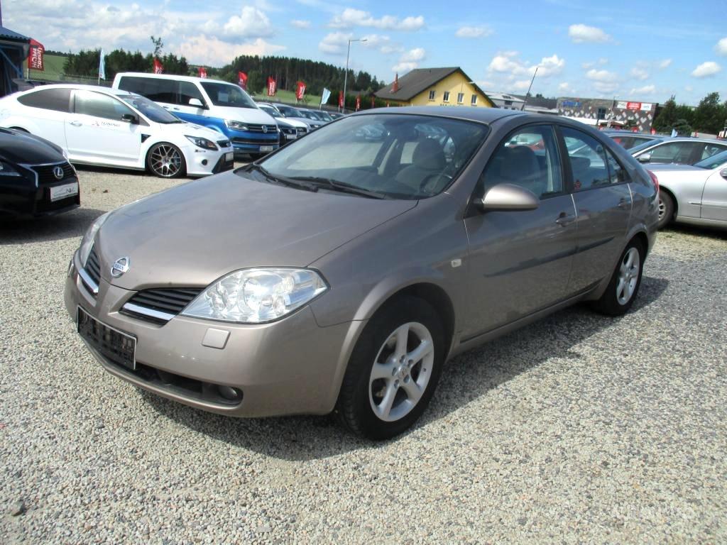 Nissan Primera, 2006 - celkový pohled