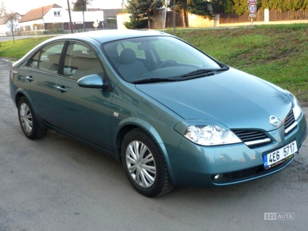 Nissan Primera, 2003 - celkový pohled