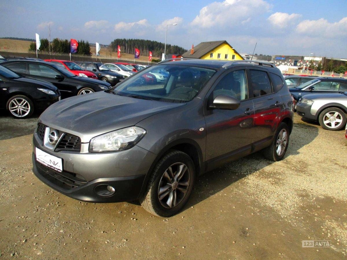 Nissan Qashqai, 2011 - celkový pohled