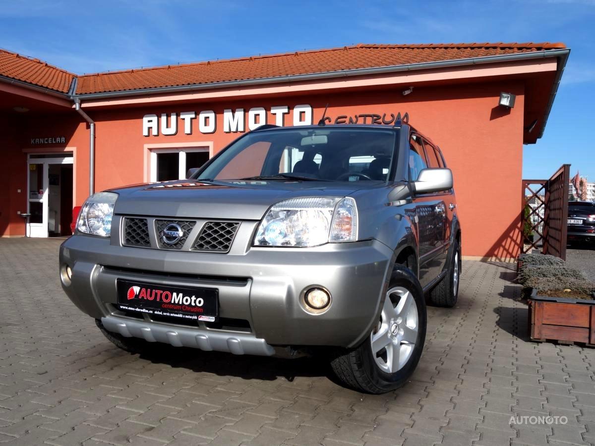 Nissan X-Trail, 2005 - celkový pohled
