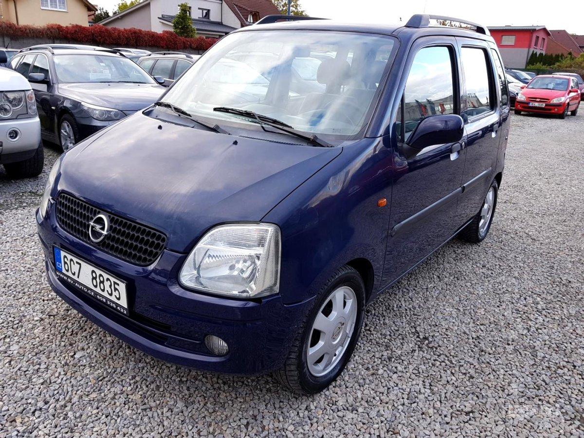 Opel Agila, 2002 - celkový pohled