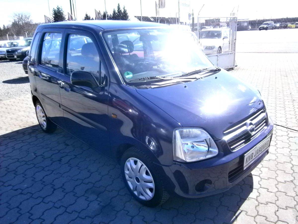 Opel Agila, 2004 - celkový pohled
