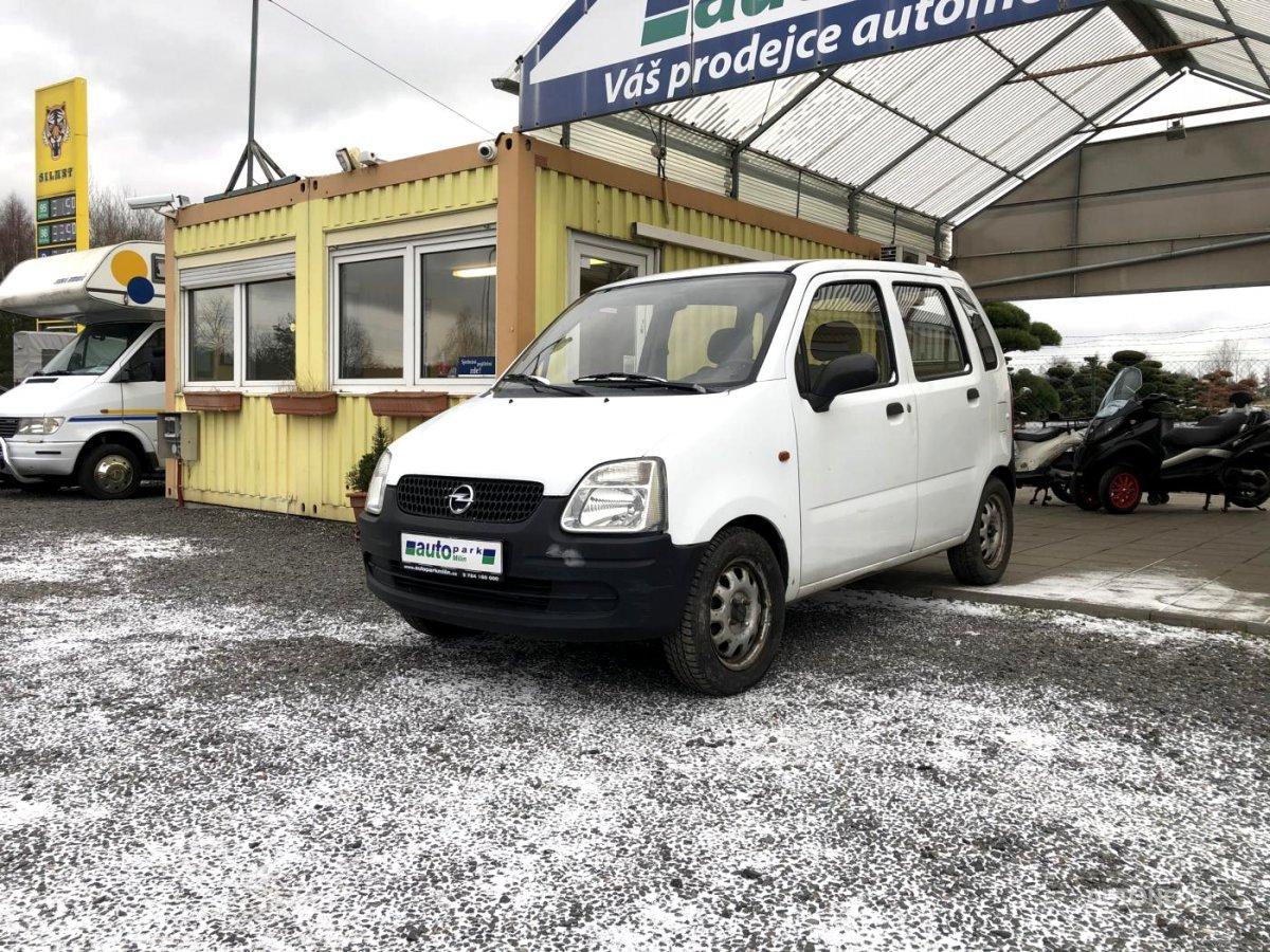 Opel Agila, 2003 - celkový pohled