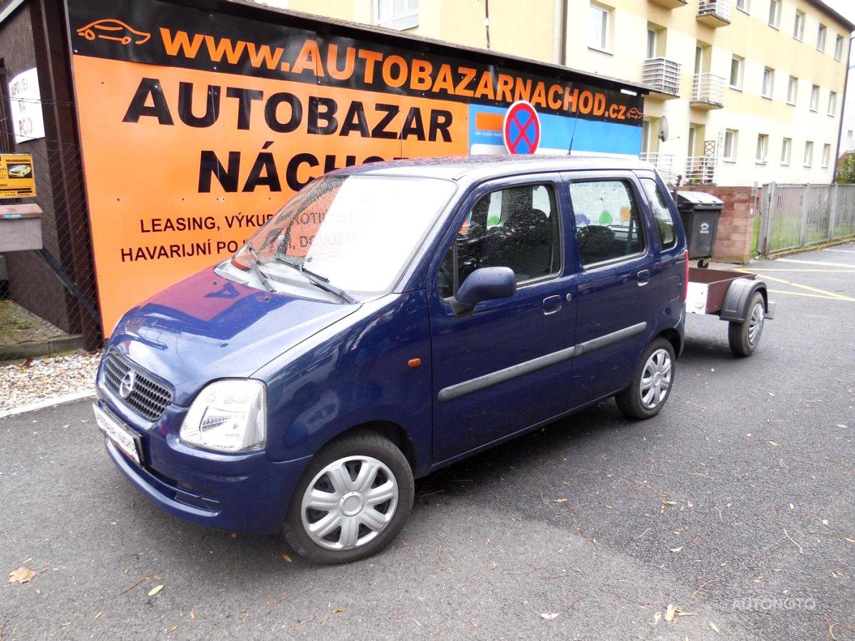 Opel Agila, 2006 - celkový pohled