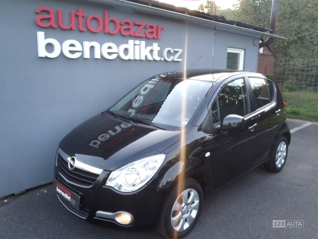 Opel Agila, 2009 - celkový pohled