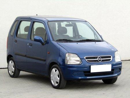 Opel Agila, 2002