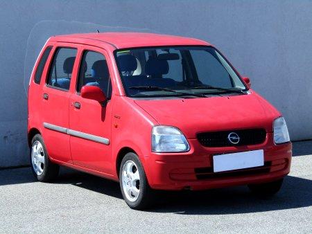 Opel Agila, 2001