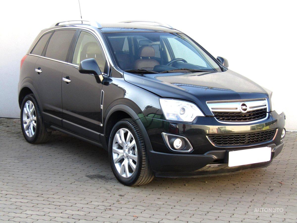 Opel Antara, 2012 - celkový pohled
