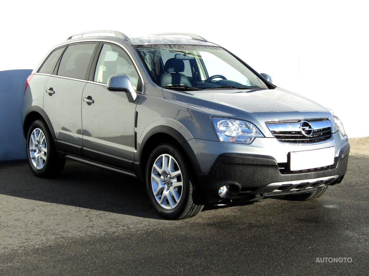 Opel Antara, 2011 - celkový pohled