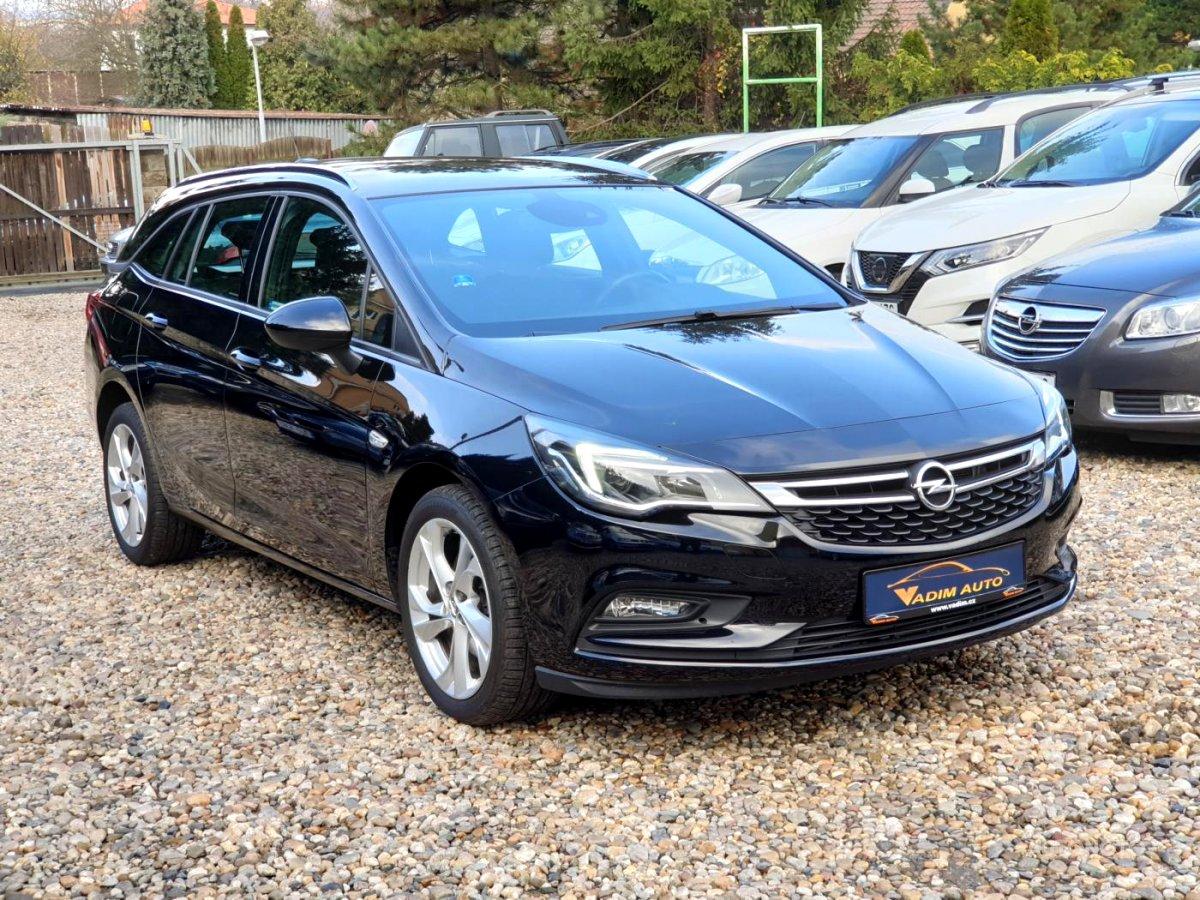 Opel Astra, 2017 - celkový pohled