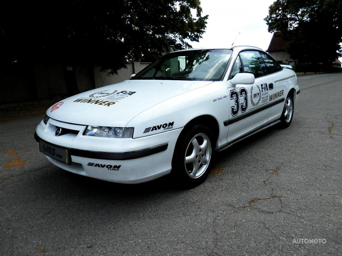 Opel Calibra, 1995 - celkový pohled