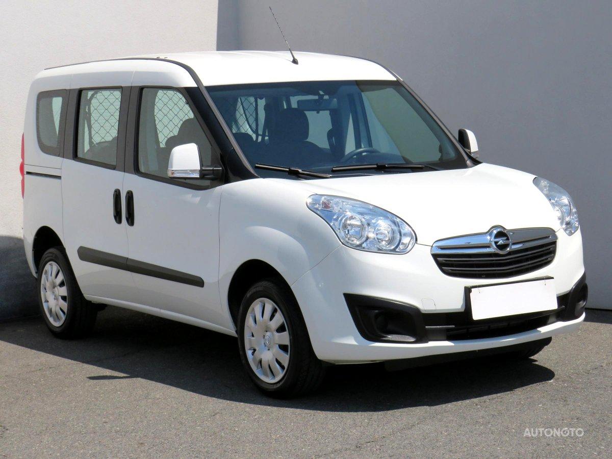 Opel Combo, 2017 - celkový pohled