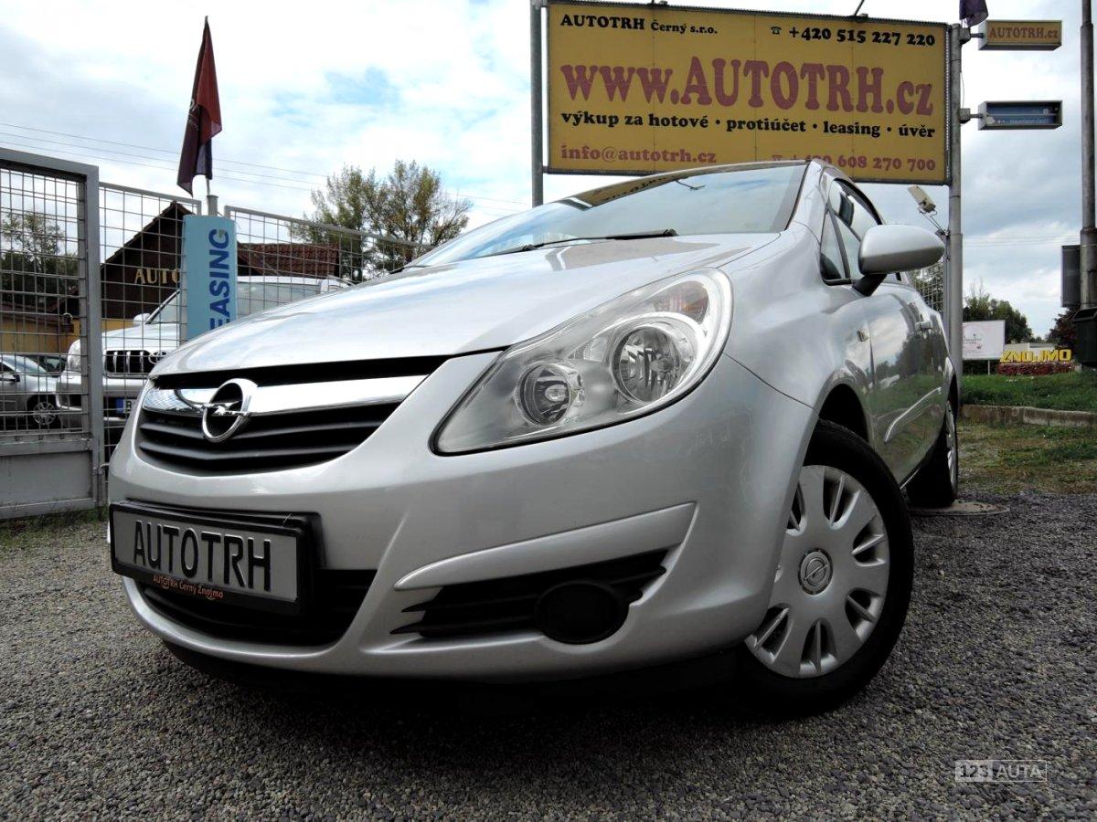 Opel Corsa, 2008 - celkový pohled