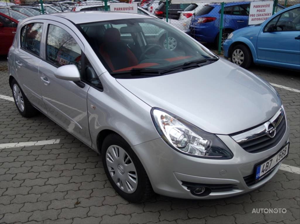 Opel Corsa, 2007 - celkový pohled