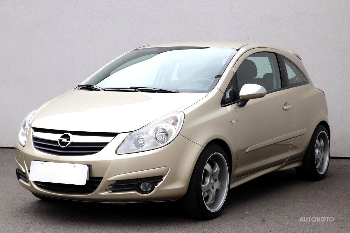 Opel Corsa, 2007 - pohled č. 3