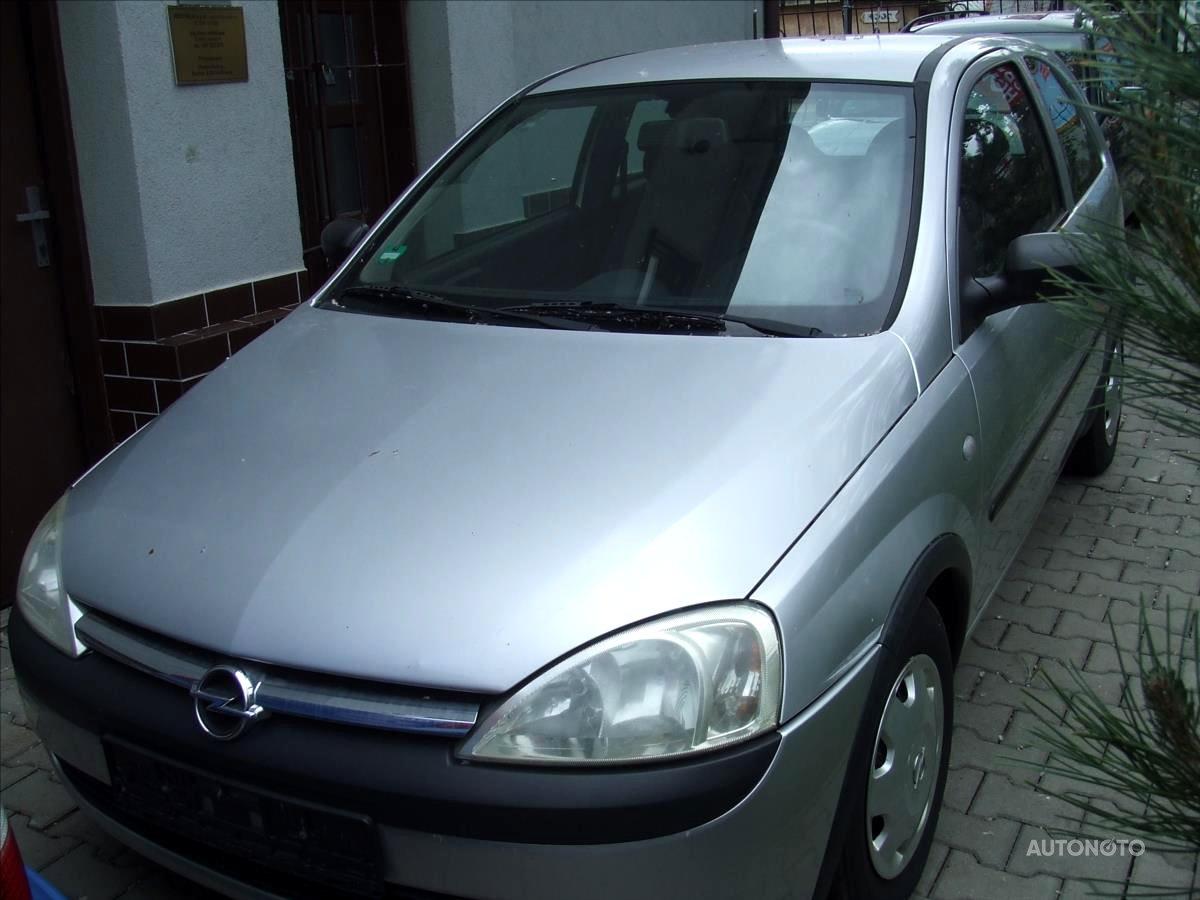 Opel Corsa, 2002 - celkový pohled