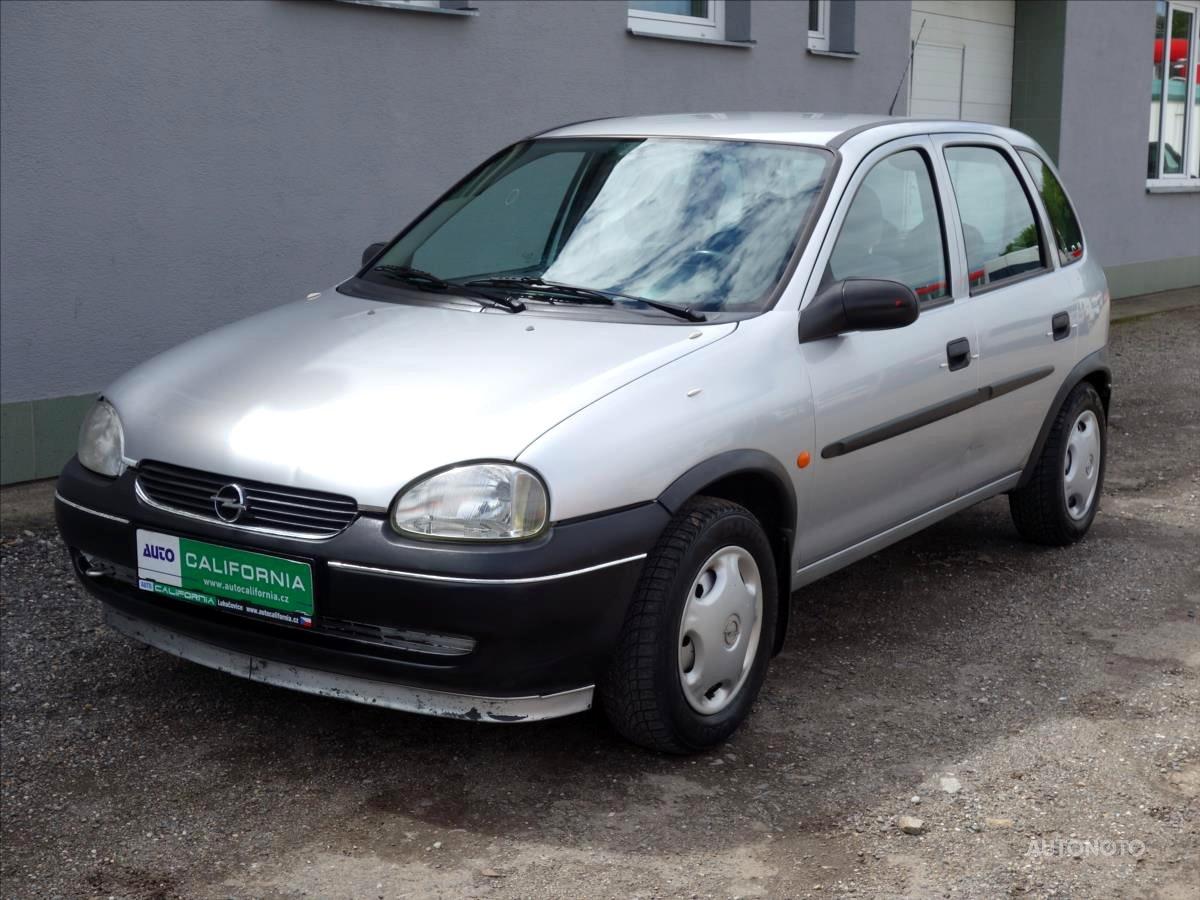 Opel Corsa, 1999 - celkový pohled