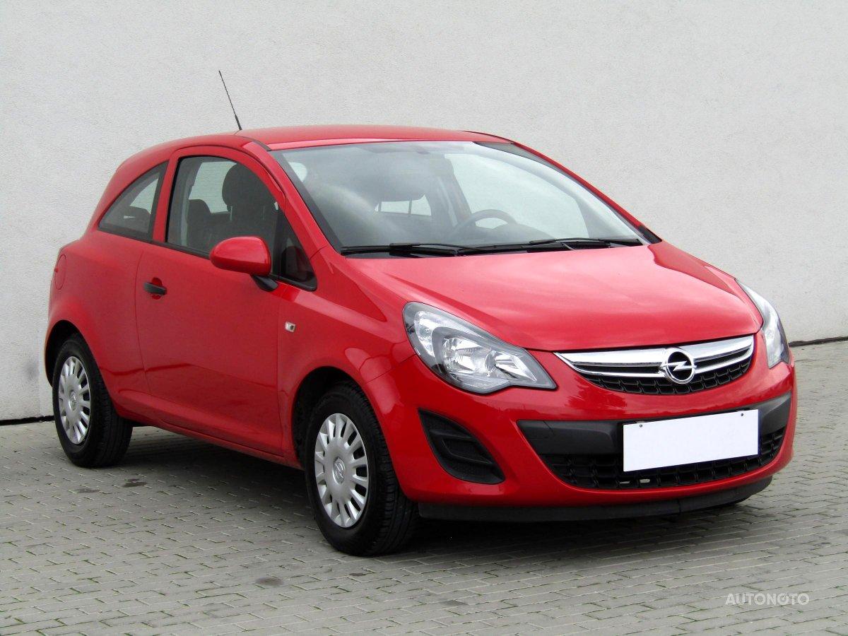 Opel Corsa, 2014 - celkový pohled