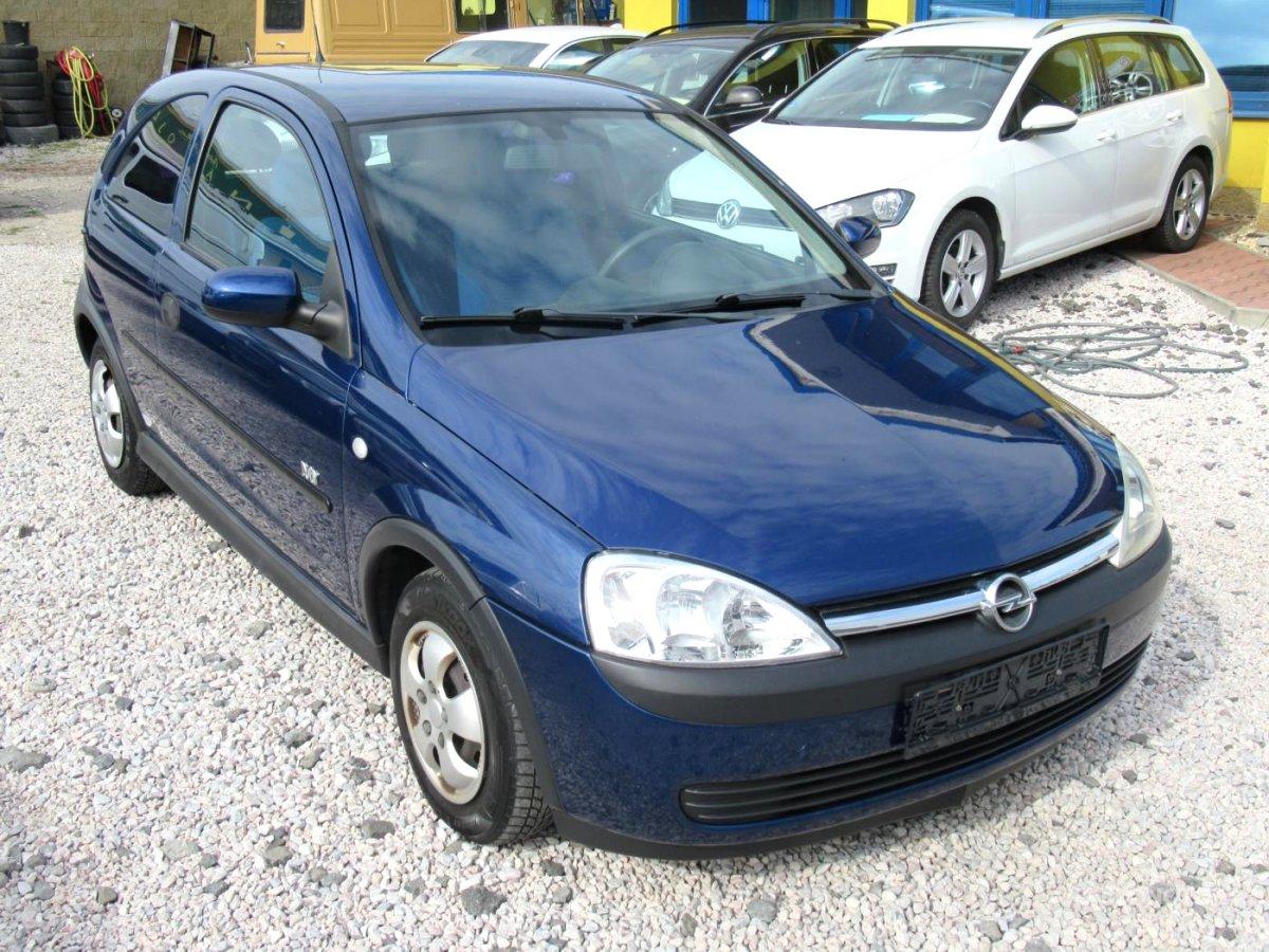 Opel Corsa, 2003 - celkový pohled