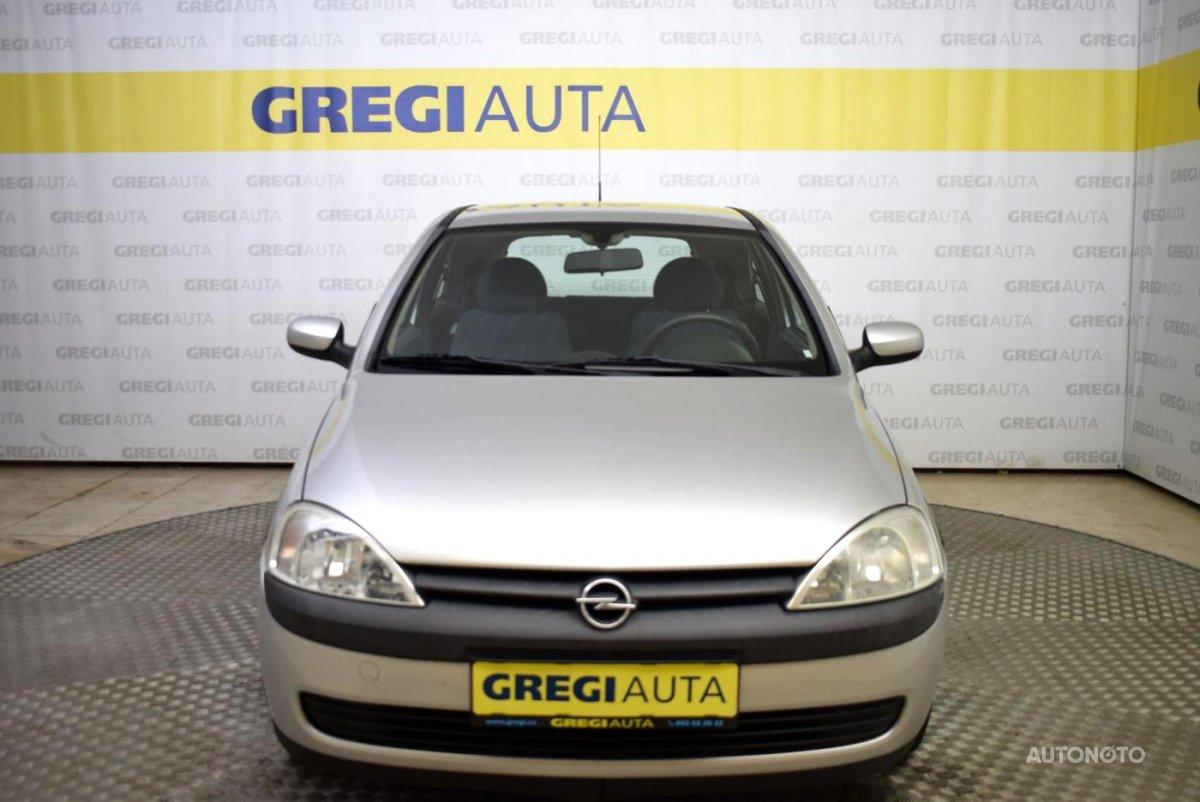 Opel Corsa, 2001 - celkový pohled