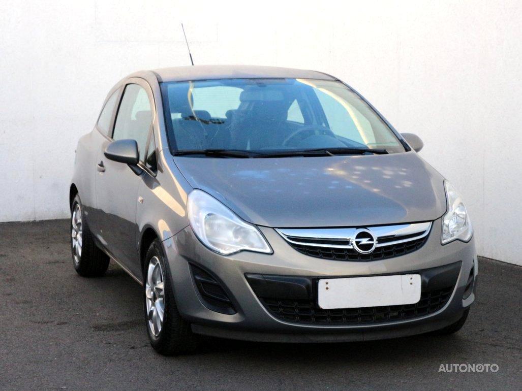 Opel Corsa, 2012 - celkový pohled