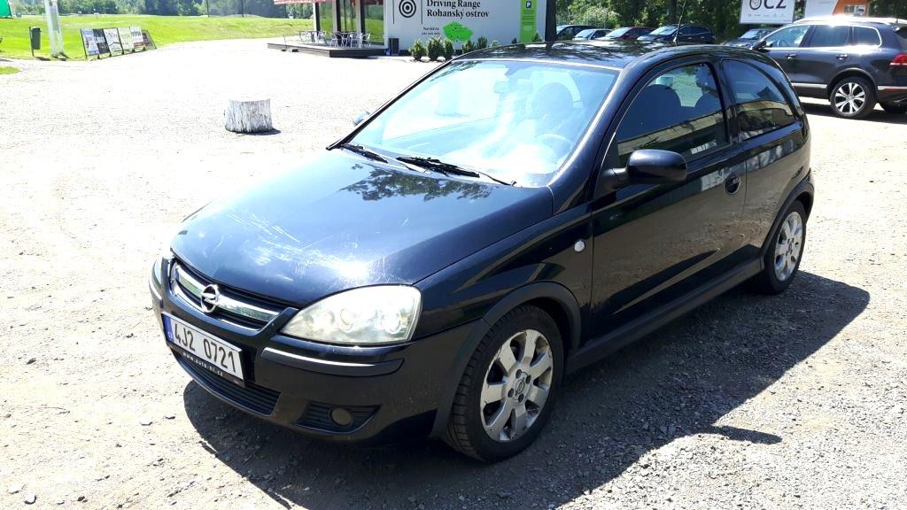 Opel Corsa, 2005 - celkový pohled