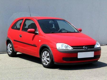 Opel Corsa, 2002