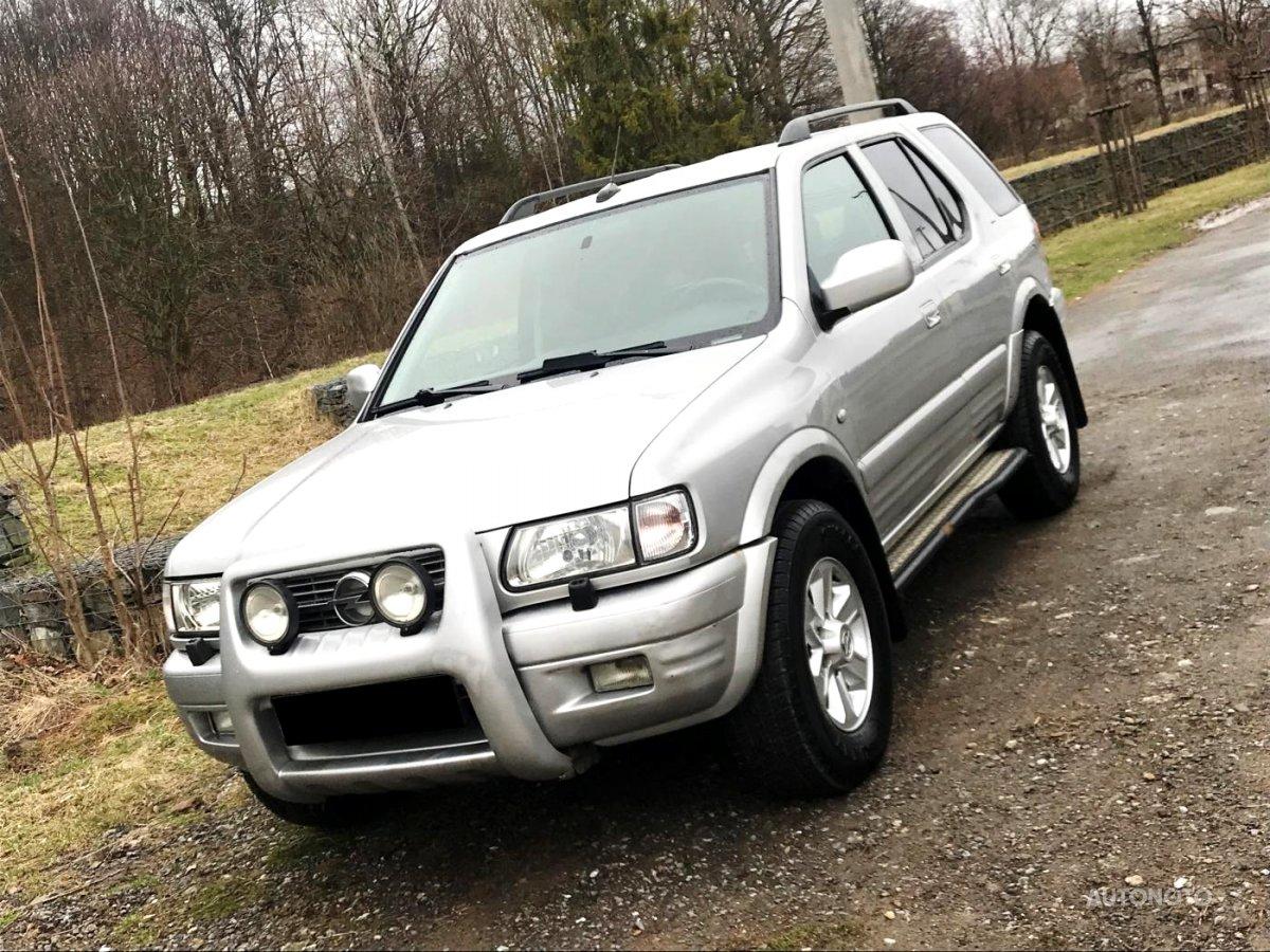 Opel Frontera, 1999 - celkový pohled