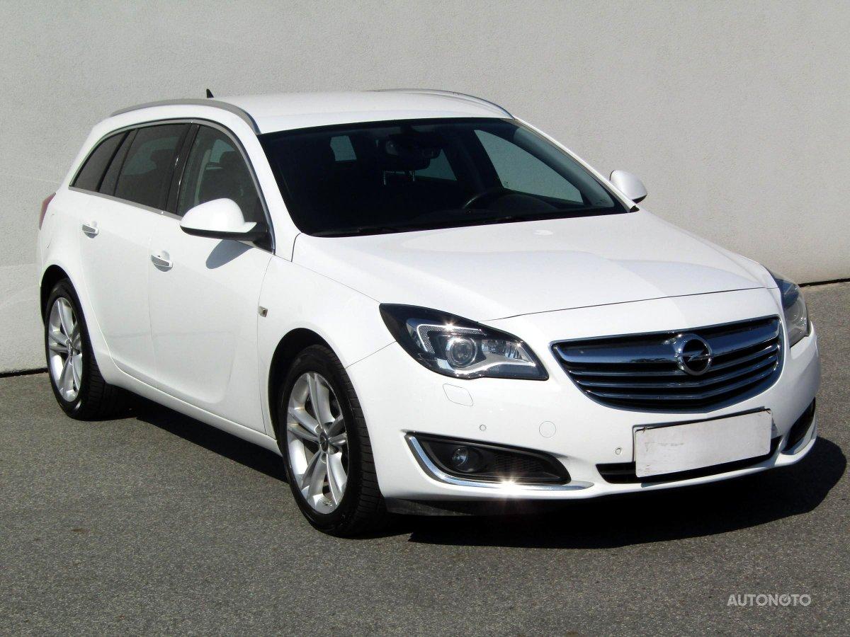 Opel Insignia, 2014 - celkový pohled