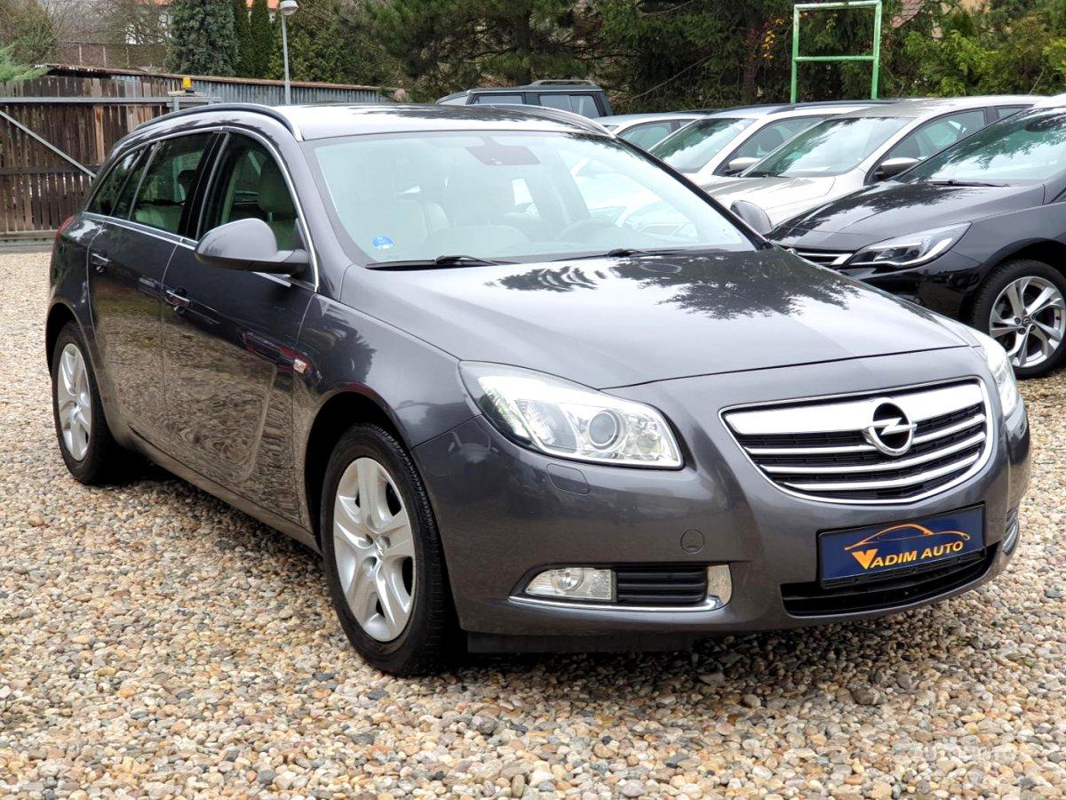 Opel Insignia, 2009 - celkový pohled