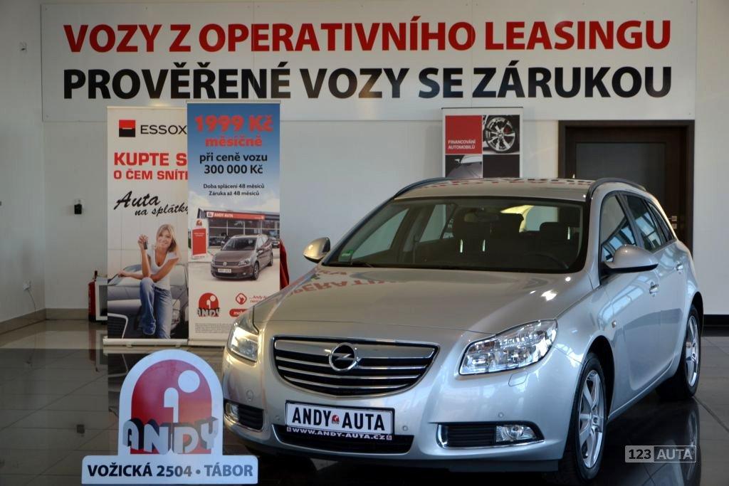 Opel Insignia, 2013 - celkový pohled