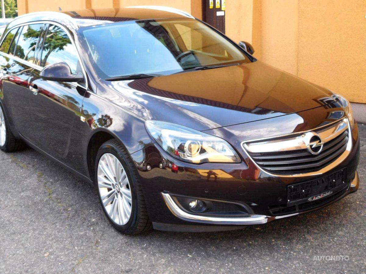 Opel Insignia, 2017 - celkový pohled