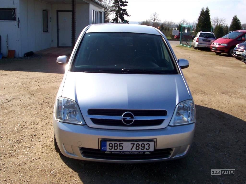 Opel Meriva, 2005 - celkový pohled