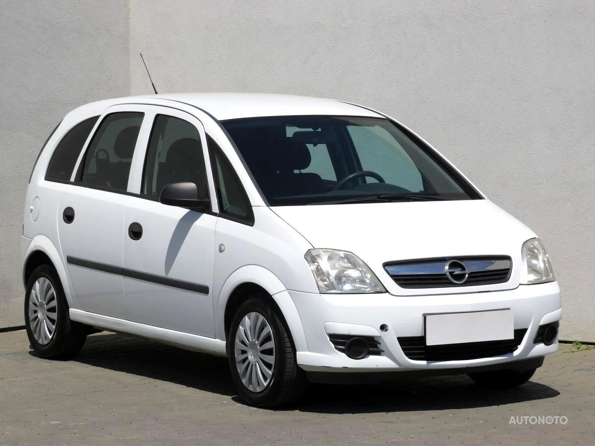 Opel Meriva, 2007 - celkový pohled