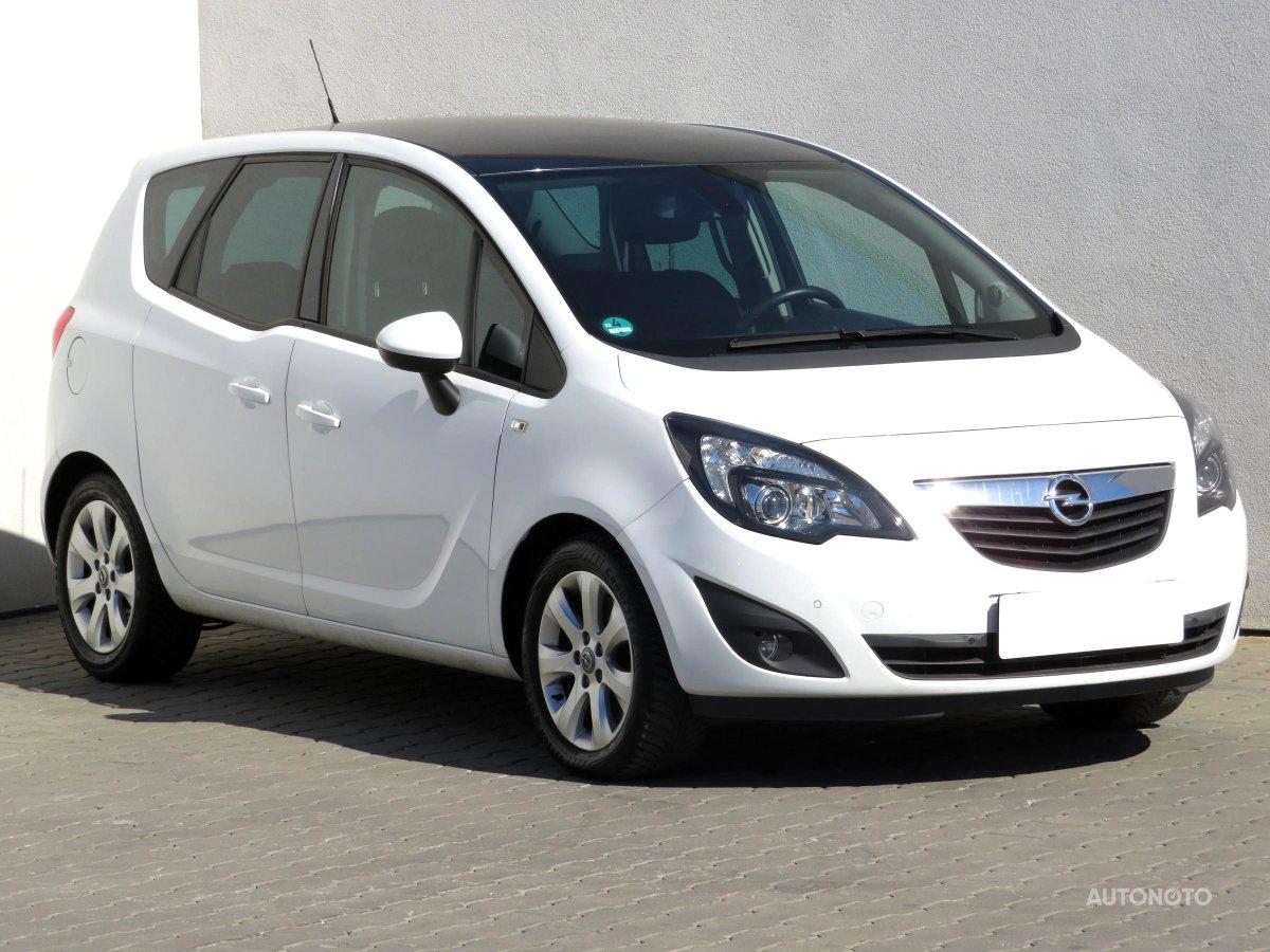 Opel Meriva, 2012 - celkový pohled
