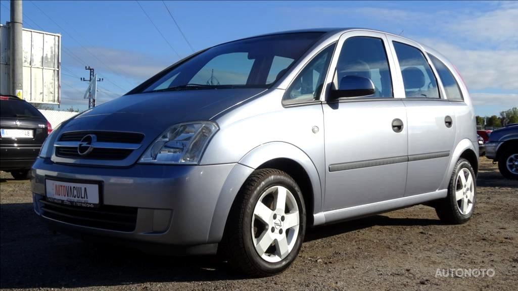 Opel Meriva, 2004 - celkový pohled