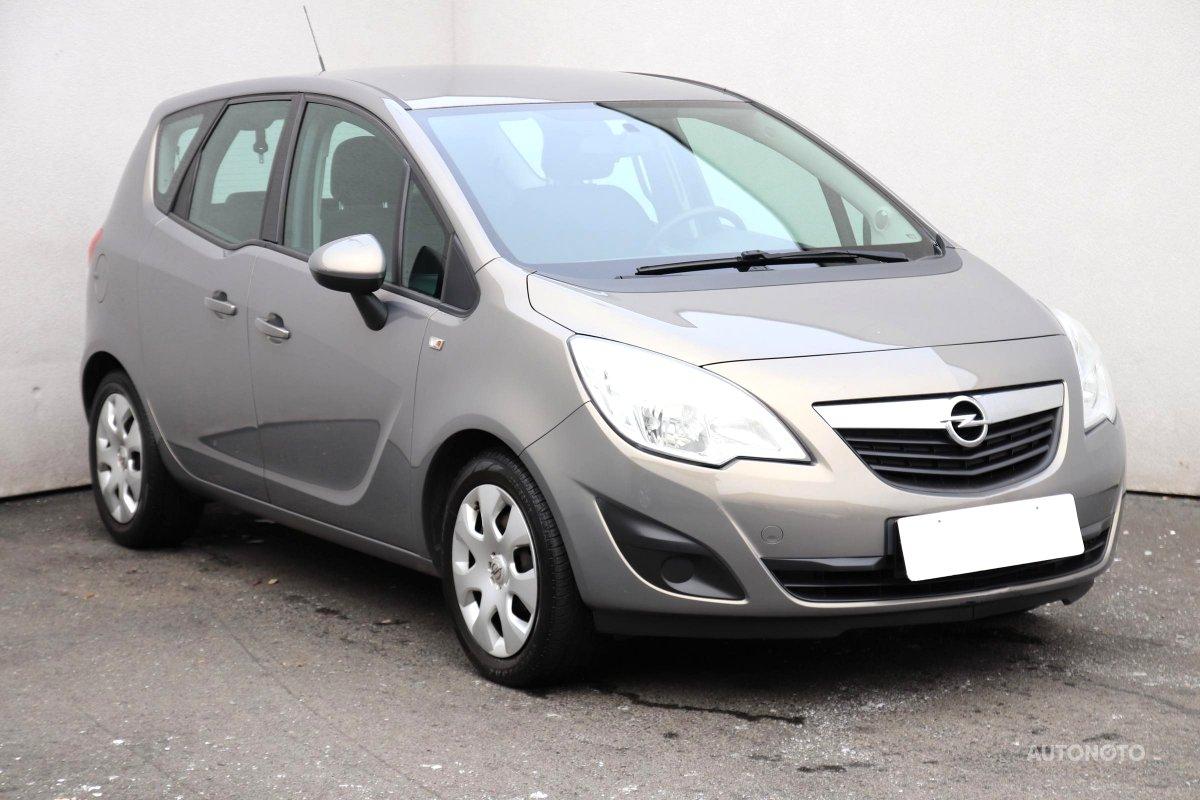 Opel Meriva, 2013 - celkový pohled