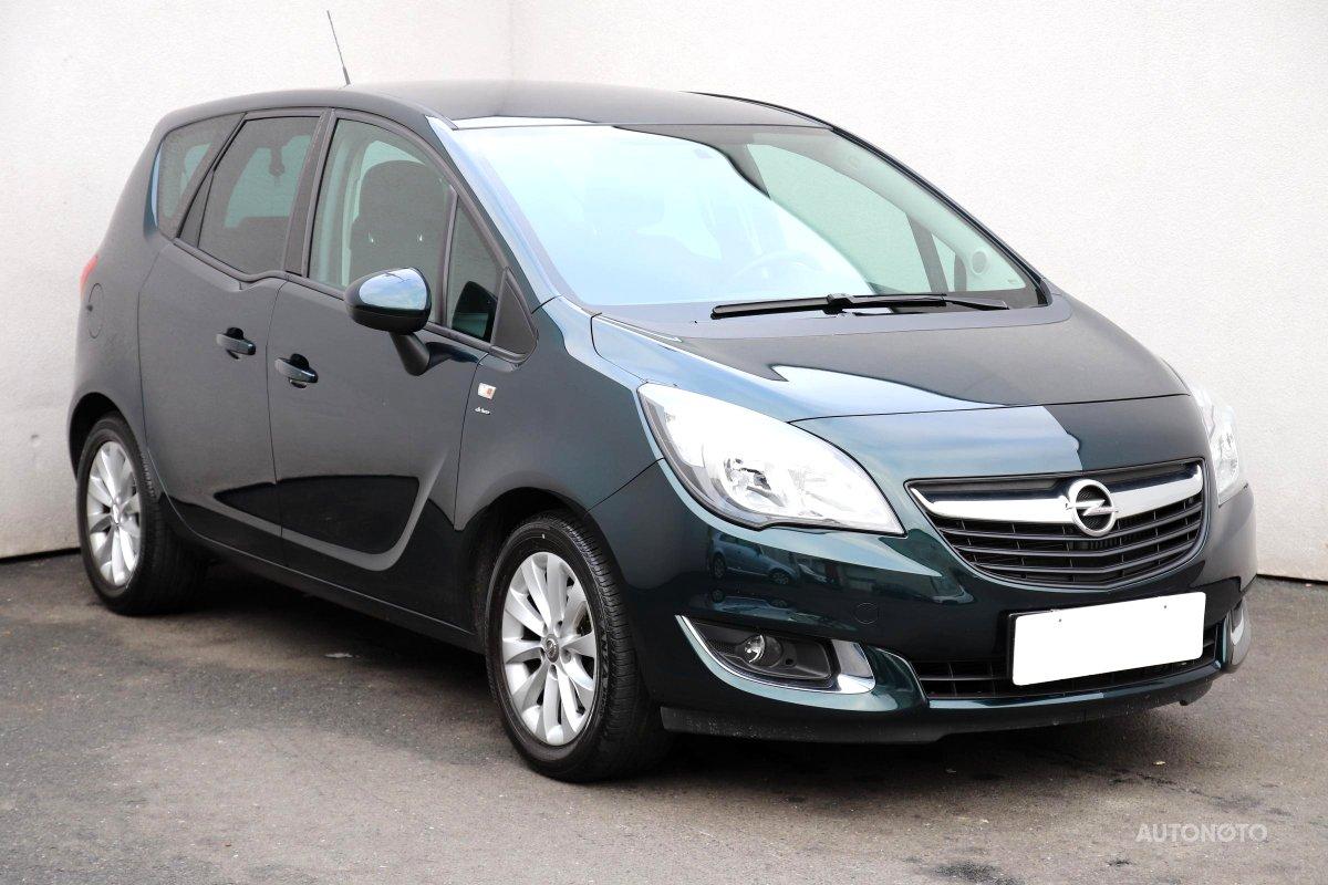 Opel Meriva, 2016 - celkový pohled