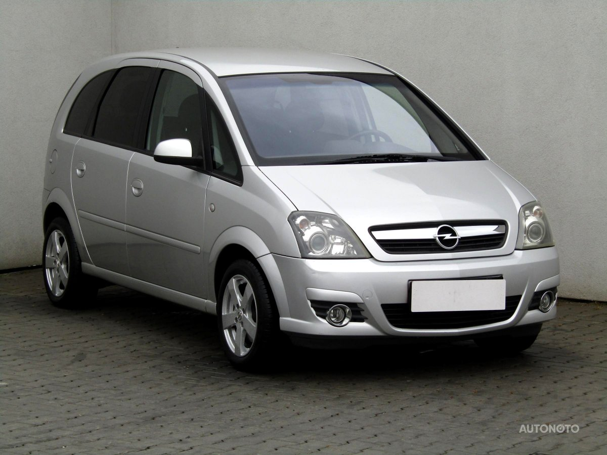 Opel Meriva, 2009 - celkový pohled