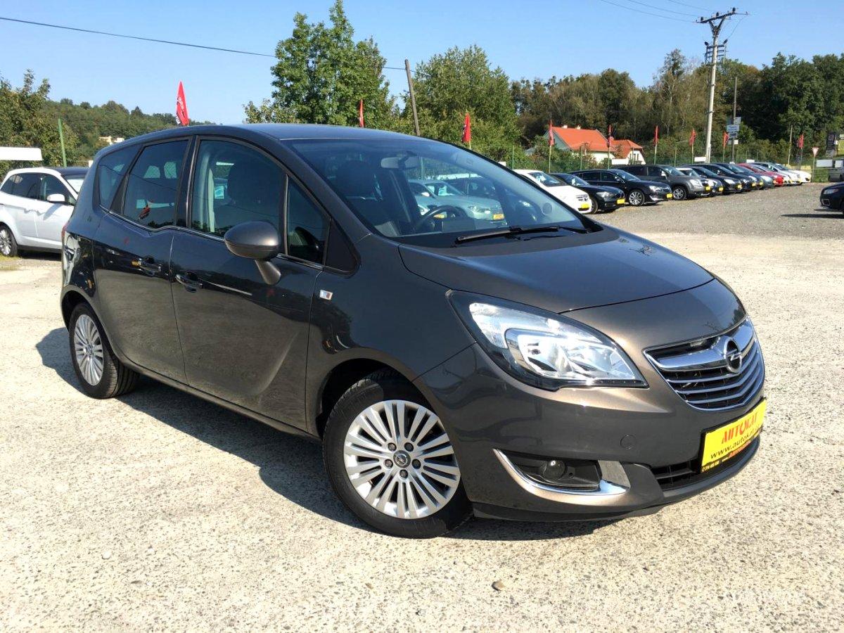 Opel Meriva, 2014 - celkový pohled