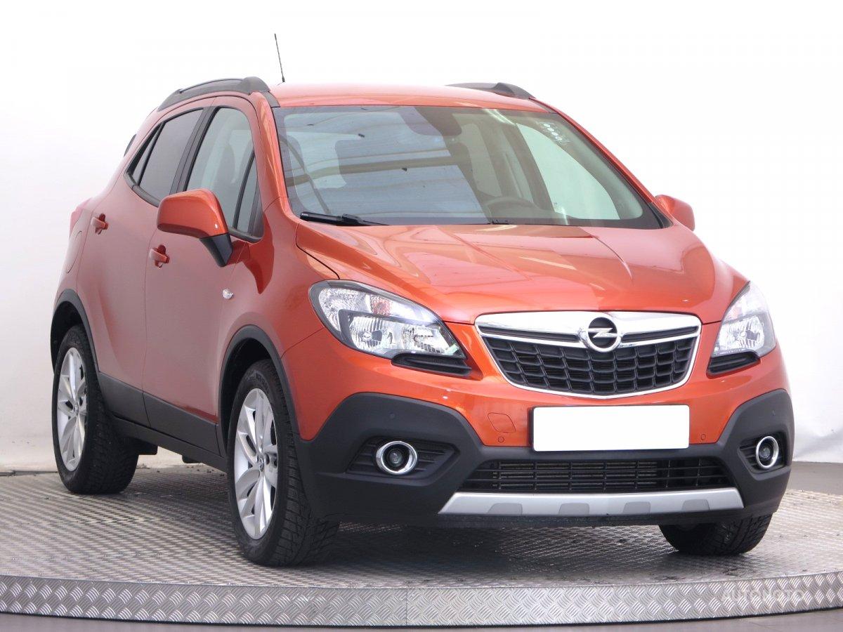 Opel Mokka, 2016 - celkový pohled